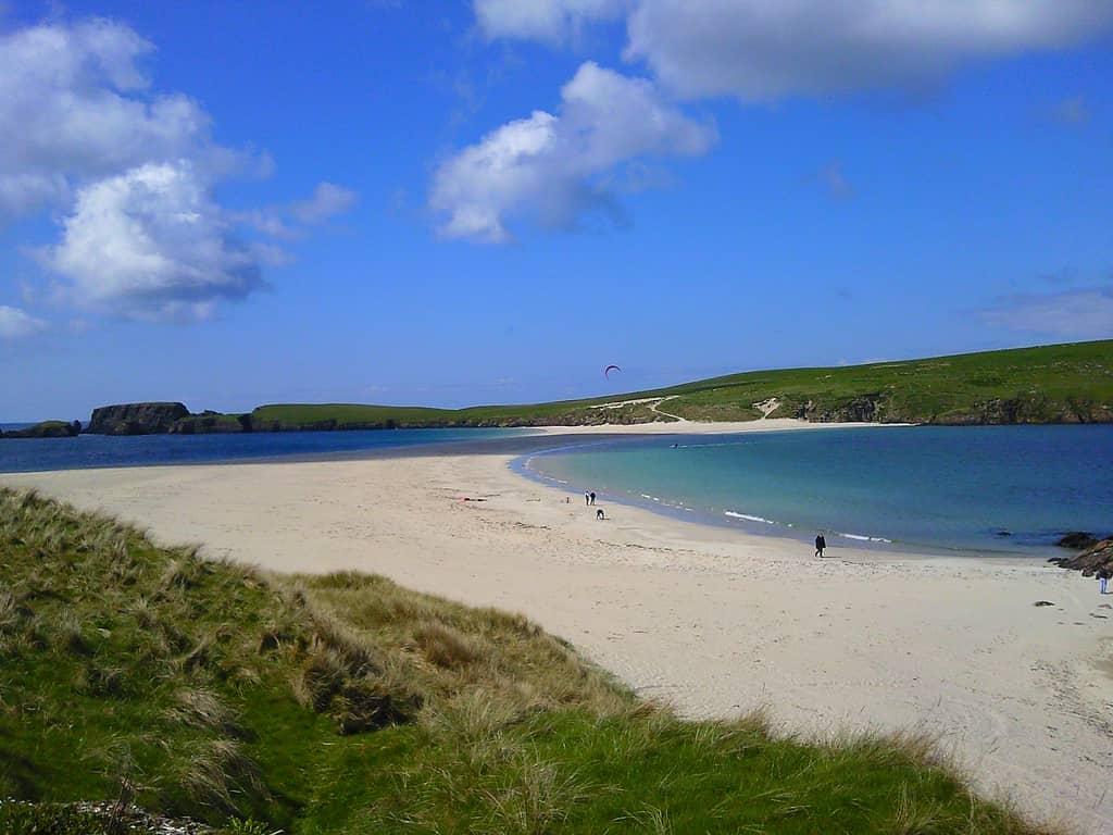 St Ninians Beach Shetland Islands Scotland By Karen Bryan