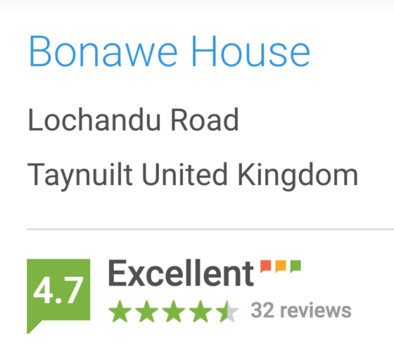Bonawe House Reviews